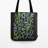 Monster Alphabet. Tote Bag