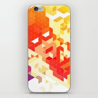 Geometric Hero 3 iPhone & iPod Skin