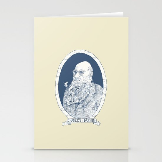 By Darwin's Beard Stationery Card