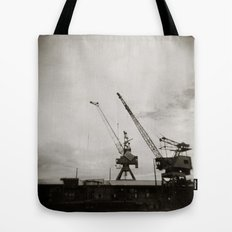 { dancing cranes } Tote Bag