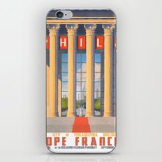 Philadelphia Welcomes Pope Francis iPhone & iPod Skin