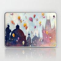 Balloons At Charles Brid… Laptop & iPad Skin