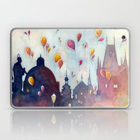 Balloons at Charles Bridge Laptop & iPad Skin