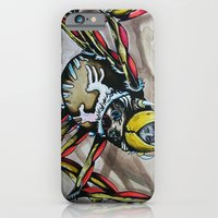 iPhone & iPod Case featuring Black Widow  by Brian J Farrell