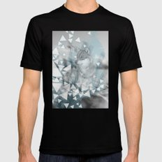 Winter Spirit SMALL Black Mens Fitted Tee