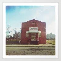 Soul Saving - Detroit, MI Art Print