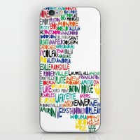 Louisiana Typography iPhone & iPod Skin