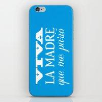 Viva Mi Madre! iPhone & iPod Skin