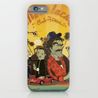 iPhone & iPod Case featuring Magnum P.I by Tom Abel