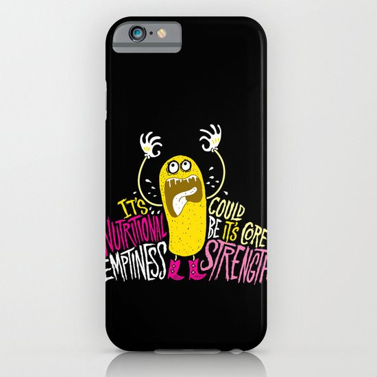 Twinkie. Emptiness. iPhone & iPod Case