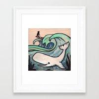 Chapman at Sea Framed Art Print