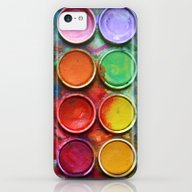 Paint Box iPhone 5c Slim Case