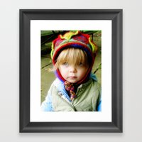The Hat Framed Art Print