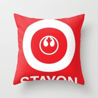 Stay On Target... Throw Pillow