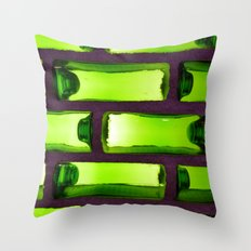 Bottles #1 Throw Pillow