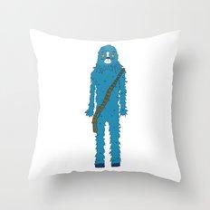Bluebacca  Throw Pillow
