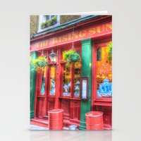 The Rising Sun Pub Londo… Stationery Cards