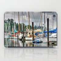 Vancouver Boat Harbor iPad Case