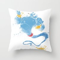 Genie Throw Pillow