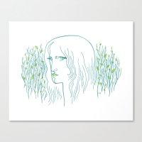 Woods Woman 1 Canvas Print