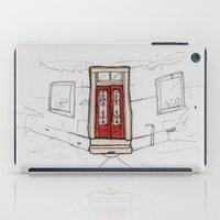 Red Doors  iPad Case