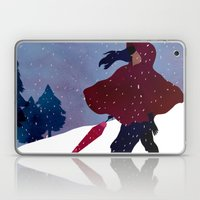 walking on snow Laptop & iPad Skin