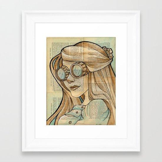 Iron Woman 1 Framed Art Print