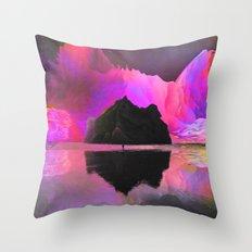 Lone Watcher Throw Pillow