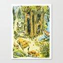 Bastian Canvas Print