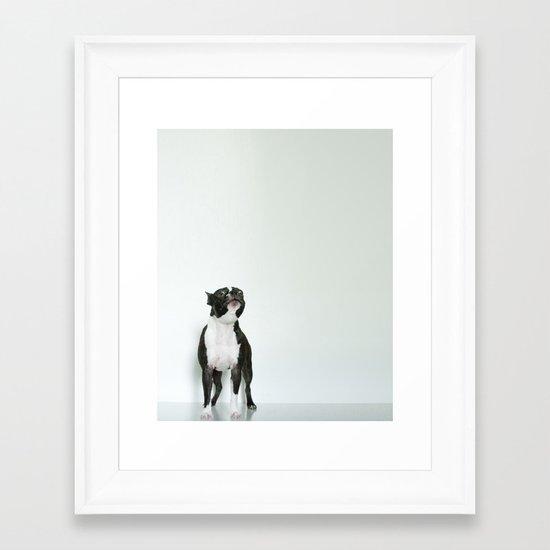 The Howler Framed Art Print