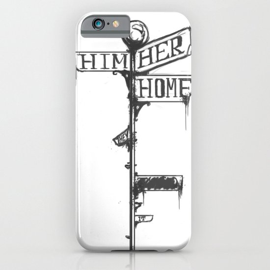 The Crossroads At The End Of The World iPhone & iPod Case