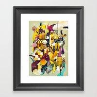 MOTOR Framed Art Print