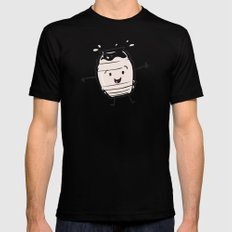 Horchata SMALL Black Mens Fitted Tee