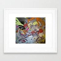 La Princess  Framed Art Print