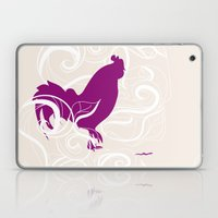 Farm Poster #2 - Rooster… Laptop & iPad Skin