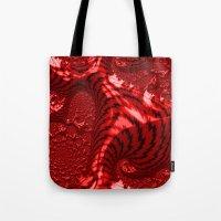 Red For Danger Tote Bag