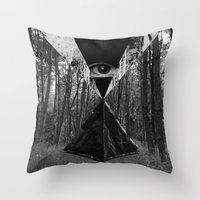 From the Eye Throw Pillow