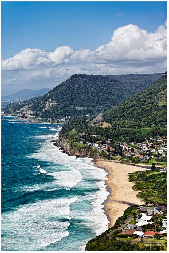 the great aussie south coast  Canvas Print