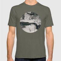 Winter Falls Mens Fitted Tee Lieutenant SMALL