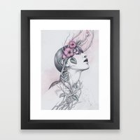 196 Framed Art Print