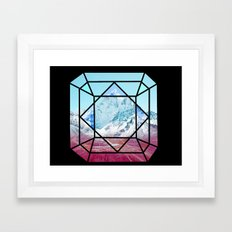 Mountains Majesty  Framed Art Print