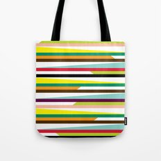 Irregular stripes #1 Tote Bag