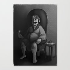 Portrait of a Plumber Canvas Print