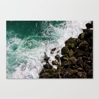 Sea and Rocks Canvas Print