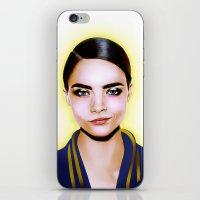 Cara Delevingne iPhone & iPod Skin