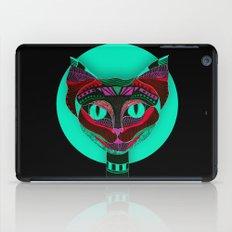 Black CAT- Black iPad Case