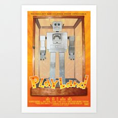 Playland Official Movie Poster Art Print