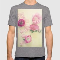 She Scattered Love Every… Mens Fitted Tee Tri-Grey SMALL
