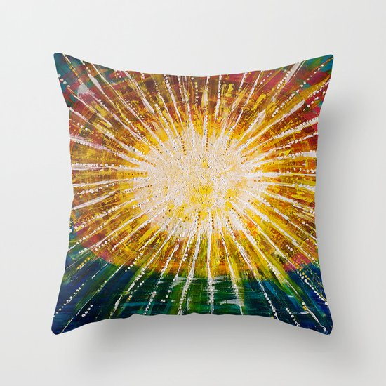 :: OneSun II :: Throw Pillow