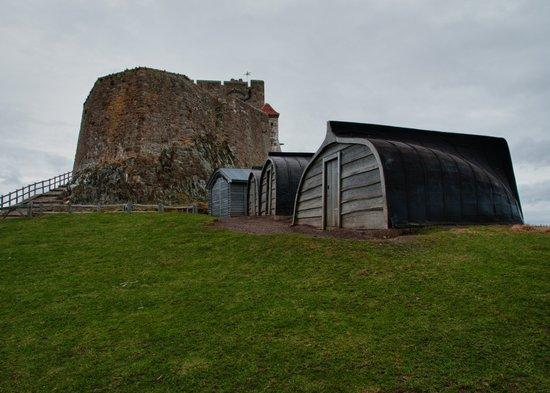 Lindisfarne Castle Art Print